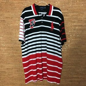 Polo Ralph Lauren Pwing Rugby Striped Shirt XXL